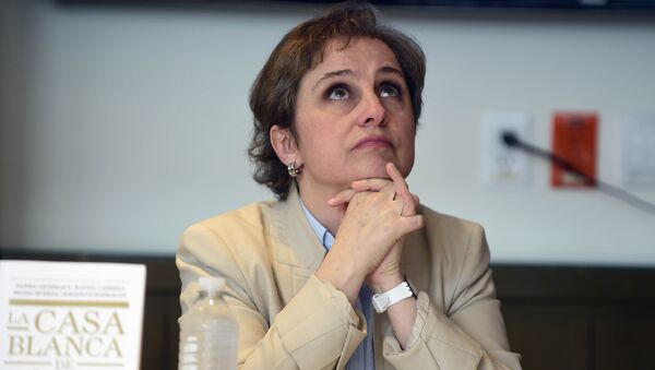 Carmen Aristegui, periodista mexicana - Sputnik Mundo