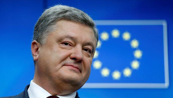 Petro Poroshenko, presidente de Ucrania - Sputnik Mundo