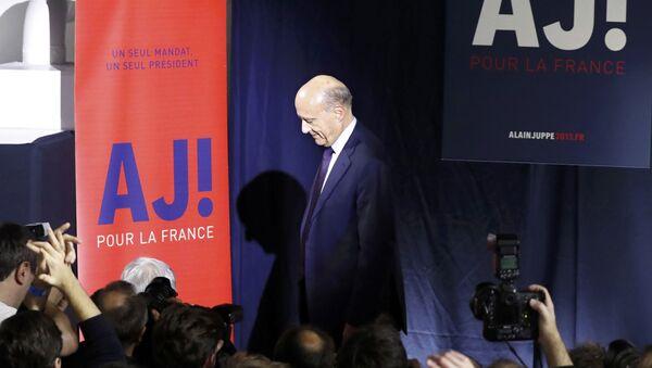 Alain Juppé - Sputnik Mundo