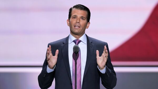 Donald Trump Jr. - Sputnik Mundo