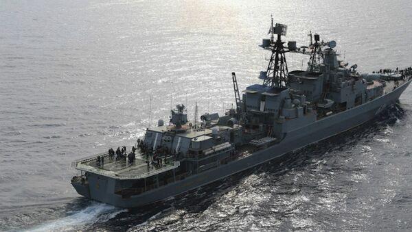 Buque antisubmarino ruso Vicealmirante Kulakov - Sputnik Mundo