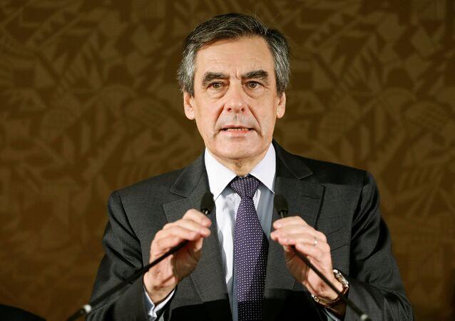 François Fillon, candidato a la presidencia de Francia (archivo)
