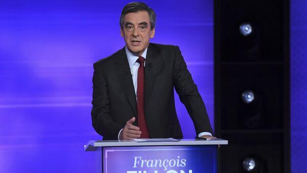 François Fillon, el ex primer ministro de Francia - Sputnik Mundo