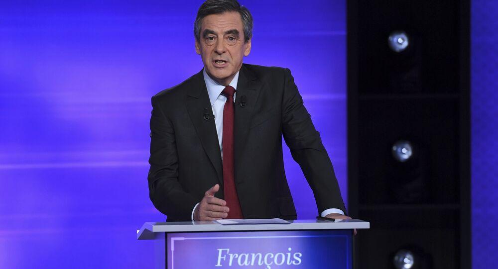 François Fillon, el ex primer ministro de Francia