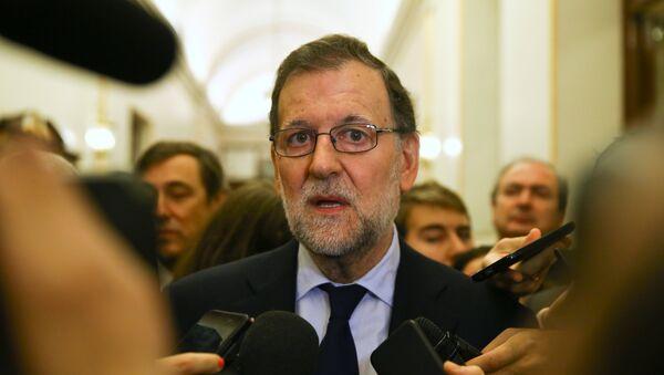 El presidente del Gobierno español, Mariano Rajoy - Sputnik Mundo