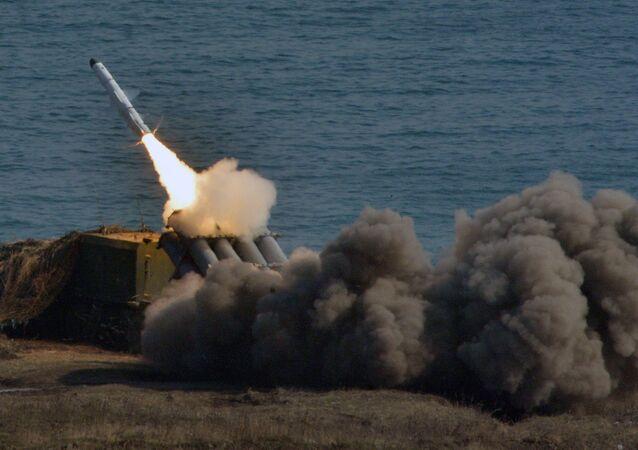 Sistema antimisiles de defensa costera Bal (archivo)