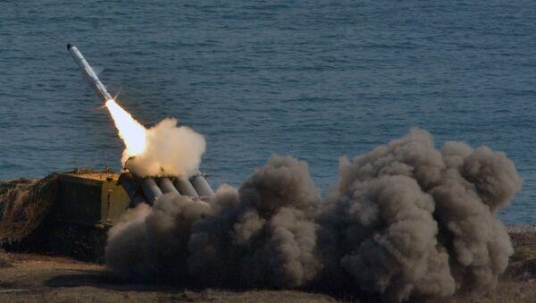 Sistema antimisiles de defensa costera Bal (archivo) - Sputnik Mundo