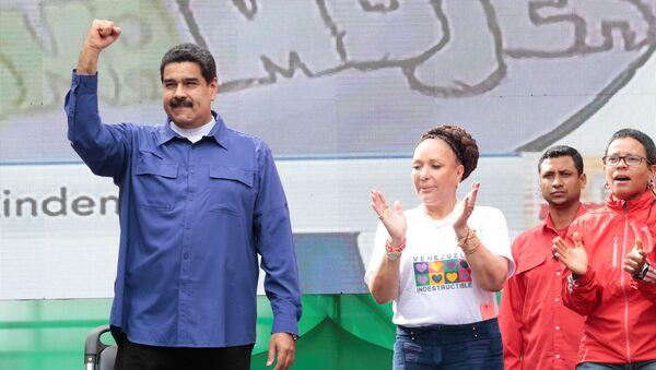 Nicolás Maduro y Piedad Córdoba - Sputnik Mundo