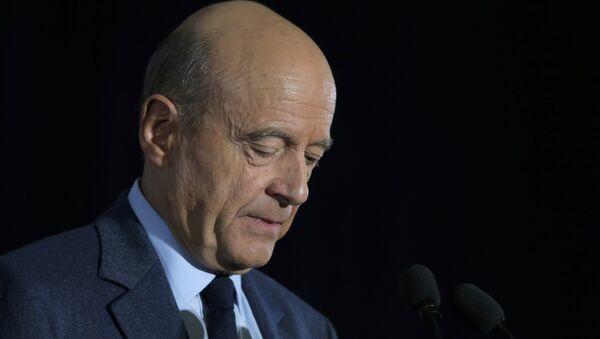 Alain Juppé, el alcalde de Burdeos y ex primer ministro francés - Sputnik Mundo