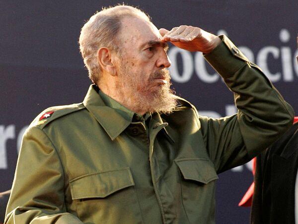 Fidel Castro en Cordoba, Argentina en 2006 - Sputnik Mundo