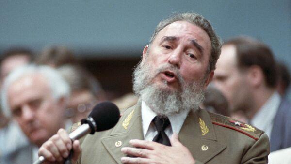 Fidel Castro, líder histórico de la Revolución cubana - Sputnik Mundo