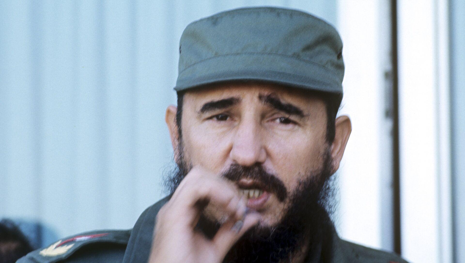 Fidel Castro, líder histórico de la Revolución cubana (archivo) - Sputnik Mundo, 1920, 13.08.2018