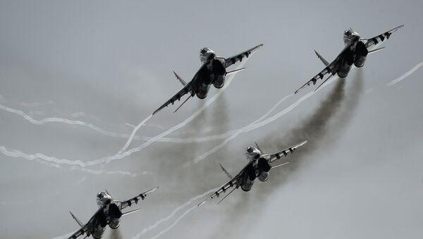 Aviones de combate MiG-29 (imagen ilustrativa) - Sputnik Mundo