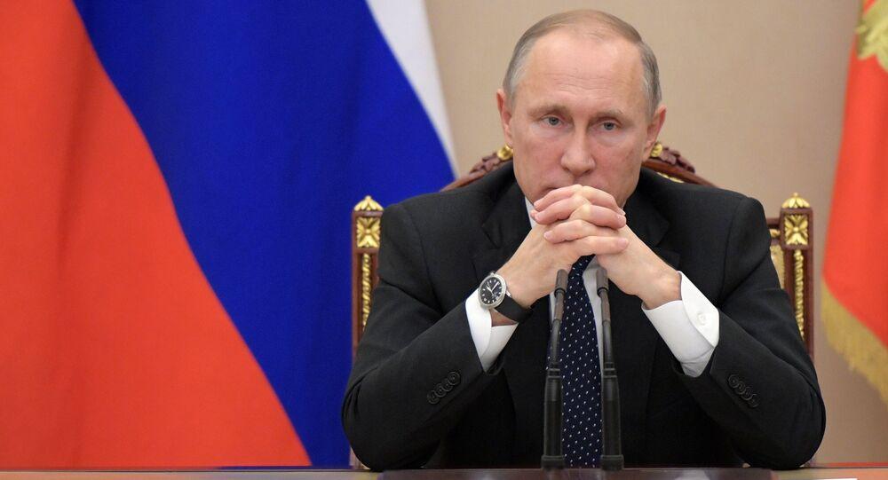 Vladímir Putin, el presidente de Rusia