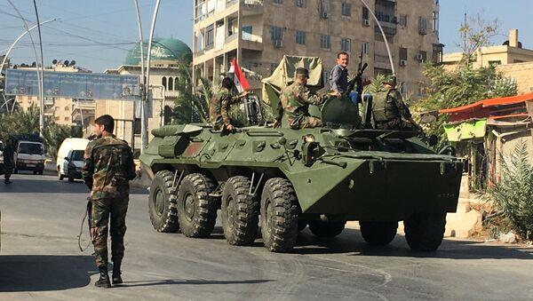 Los militares sirios en Alepo - Sputnik Mundo