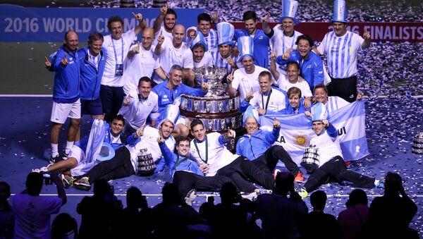 Equipo de Argentina en la Copa Davis - Sputnik Mundo