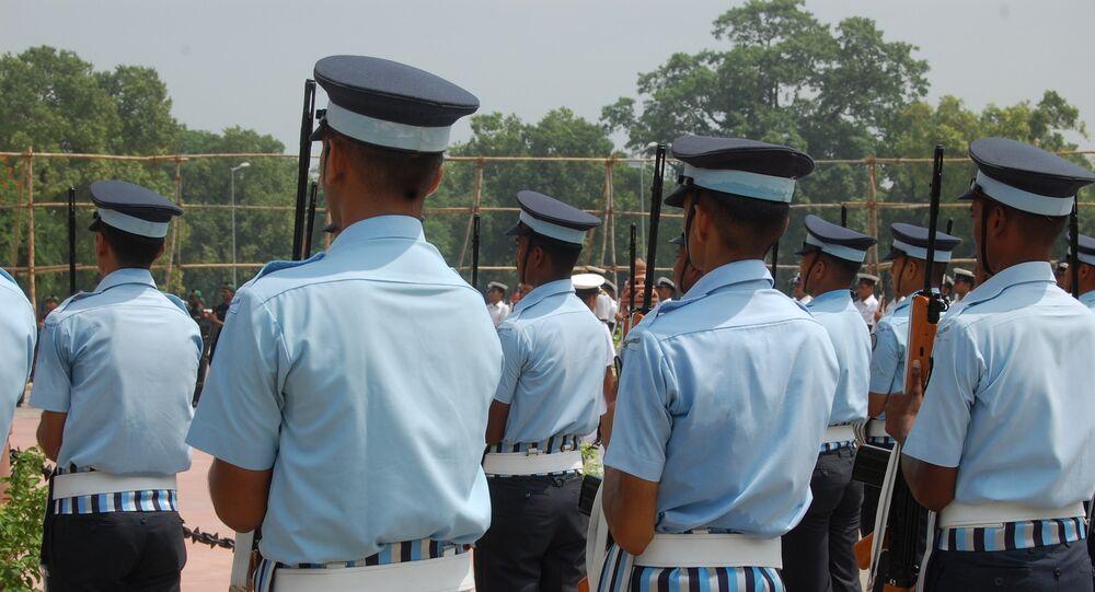 Policías de la India
