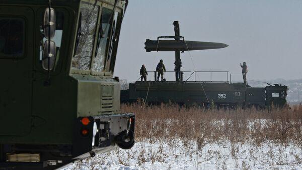 Тренировка ракетных и артиллерийских подразделений пятой армии ВВО в Приморском крае - Sputnik Mundo