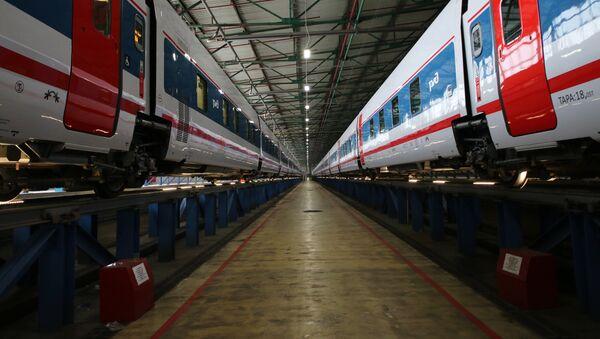 El tren Moscú-Berlín - Sputnik Mundo