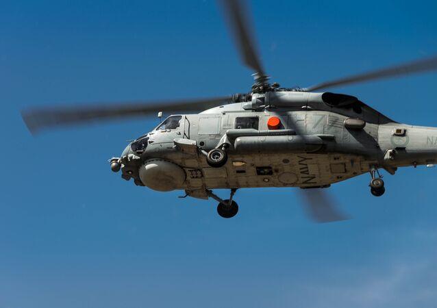 Un helicoptero Sikorsky Seahawk (archivo)