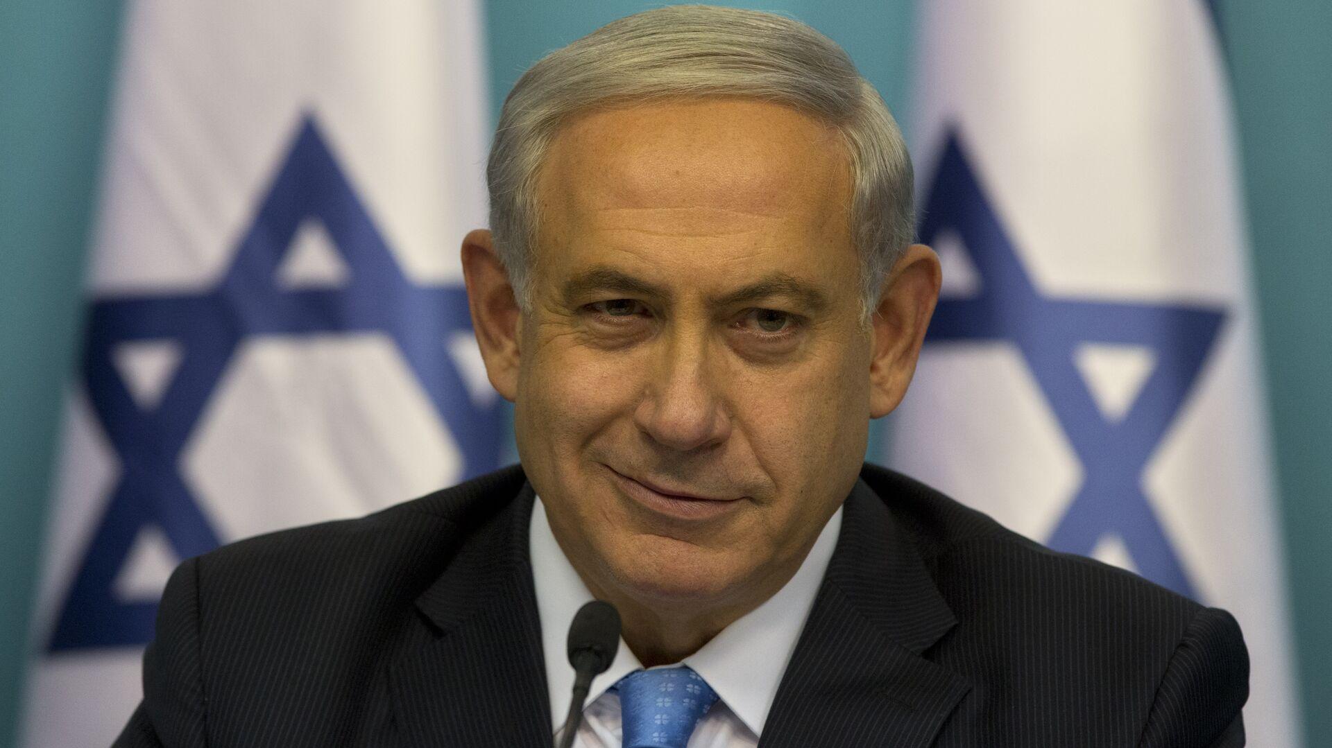 Benjamín Netanyahu, primer ministro de Israel - Sputnik Mundo, 1920, 06.04.2021