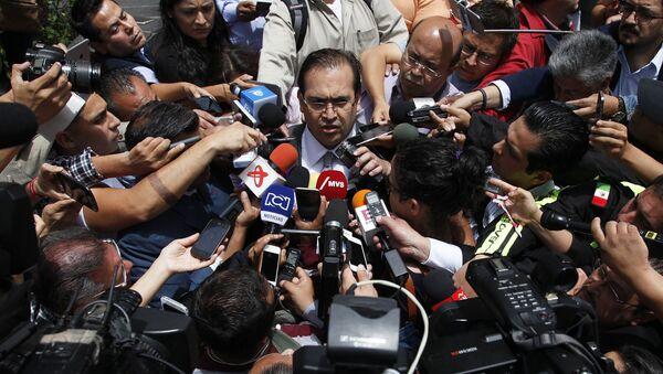 Javier Duarte, gobernador de Veracruz - Sputnik Mundo