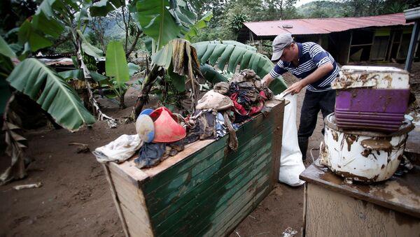 Consecuencias del huracán Otto en Costa Rica - Sputnik Mundo