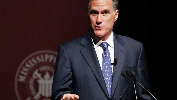 Mitt Romney - Sputnik Mundo