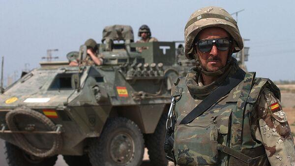 Militares españoles en Irak - Sputnik Mundo