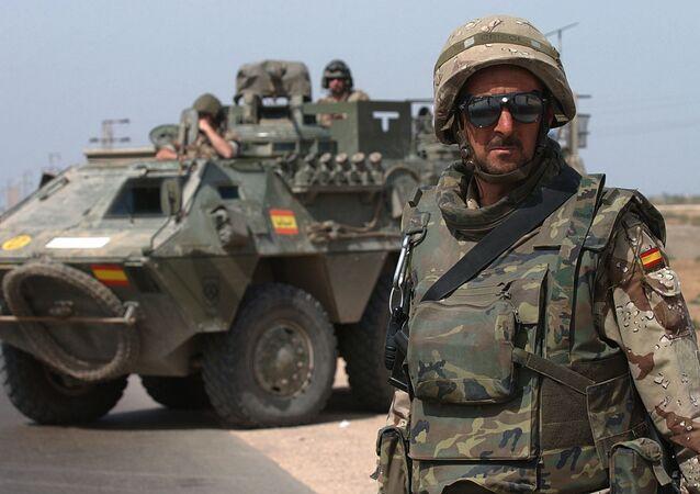 Militares españoles en Irak