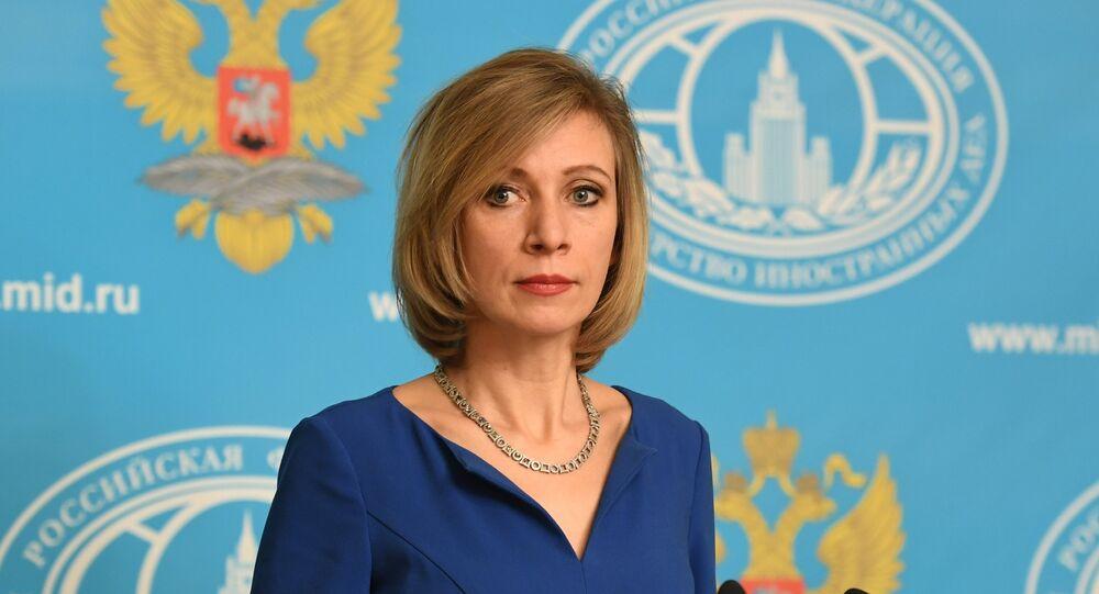 La portavoz de la Cancillería rusa, Maria Zajárova (archivo)