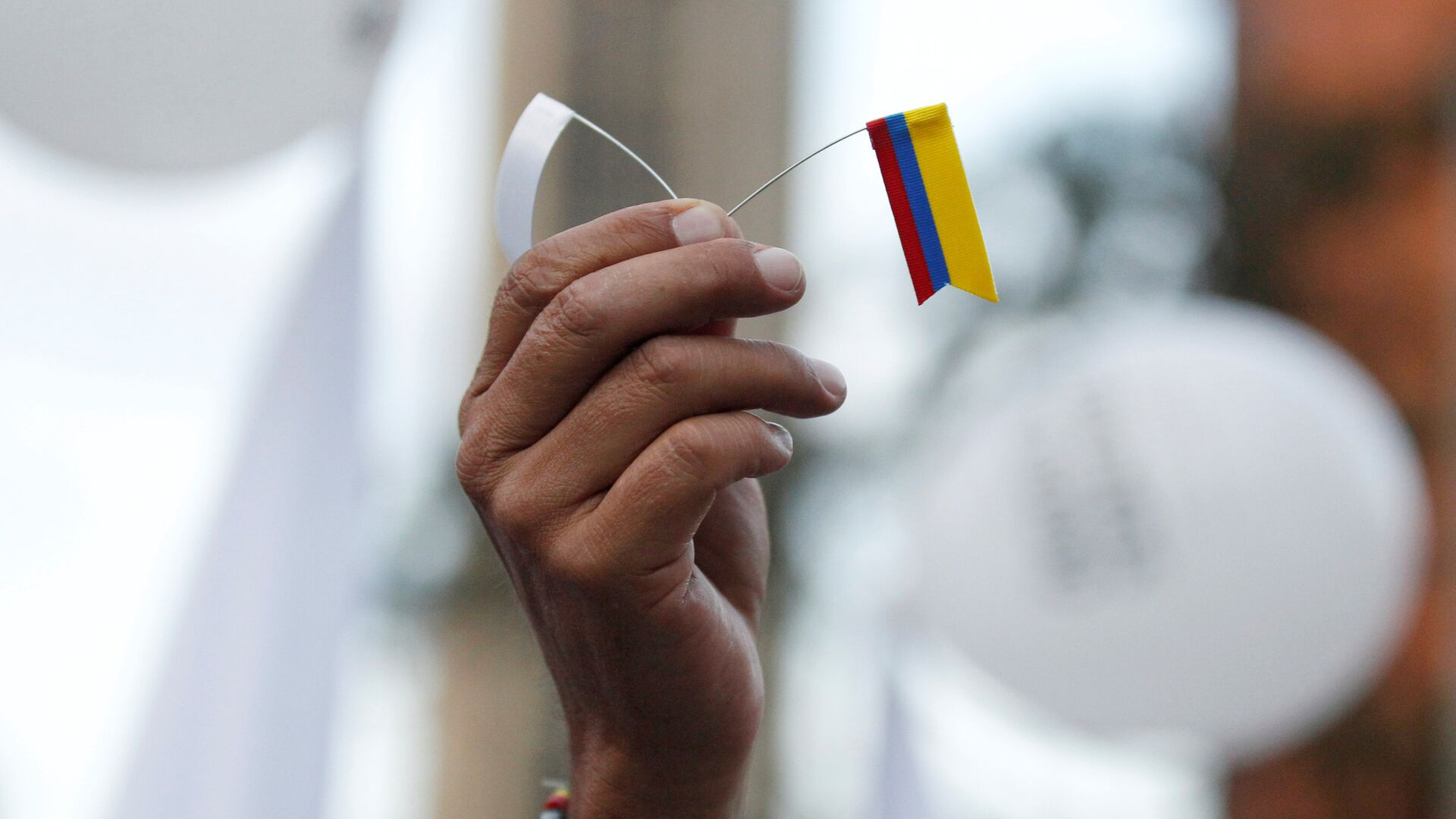 Símbolo de paz con FARC en Colombia - Sputnik Mundo, 1920, 14.09.2021