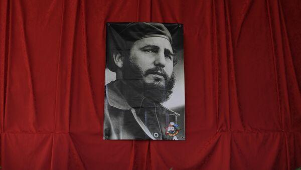 Fotografía de Fidel Castro, líder de la Revolución cubana - Sputnik Mundo
