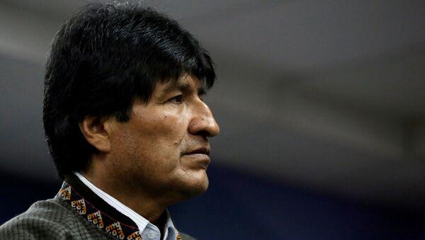 Evo Morales, presidente de Bolivia (archivo) - Sputnik Mundo