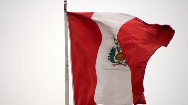 La bandera de Perú - Sputnik Mundo