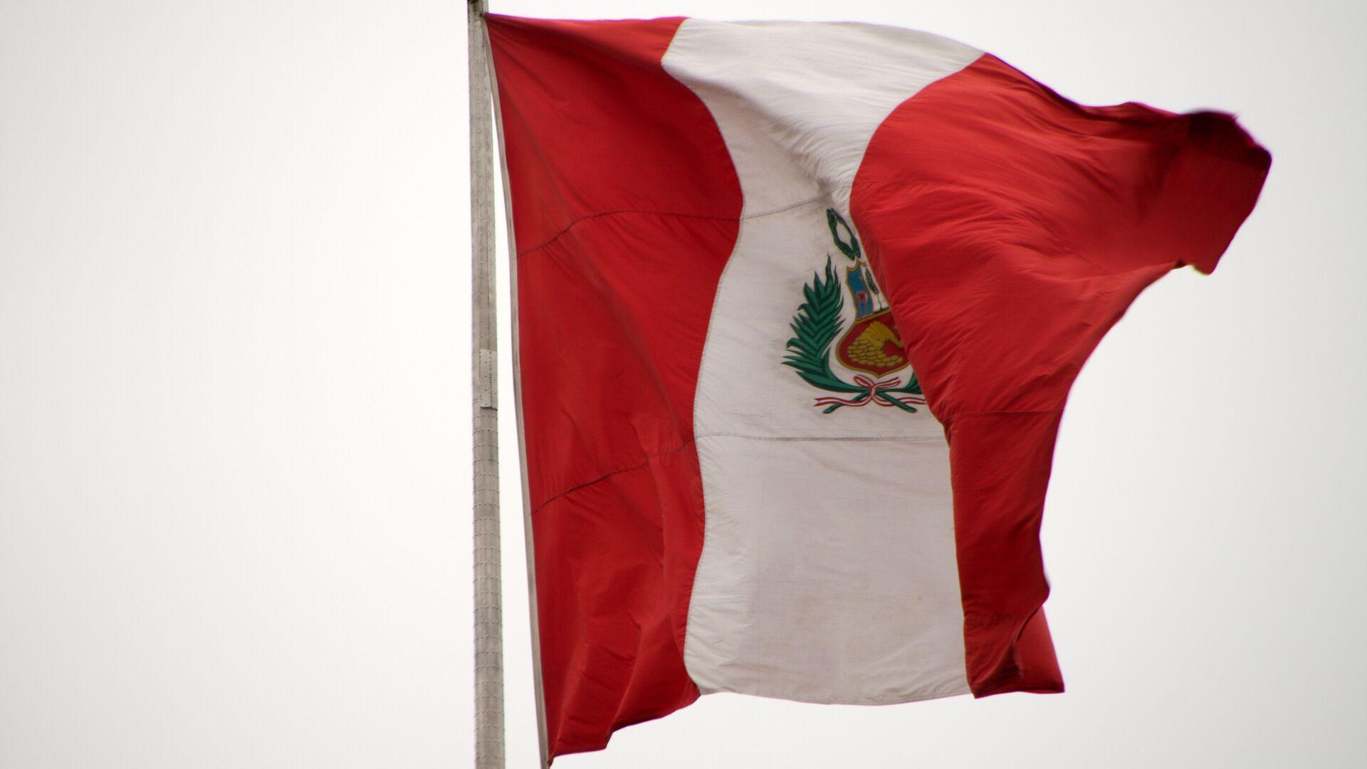 La bandera de Perú - Sputnik Mundo, 1920, 04.02.2021