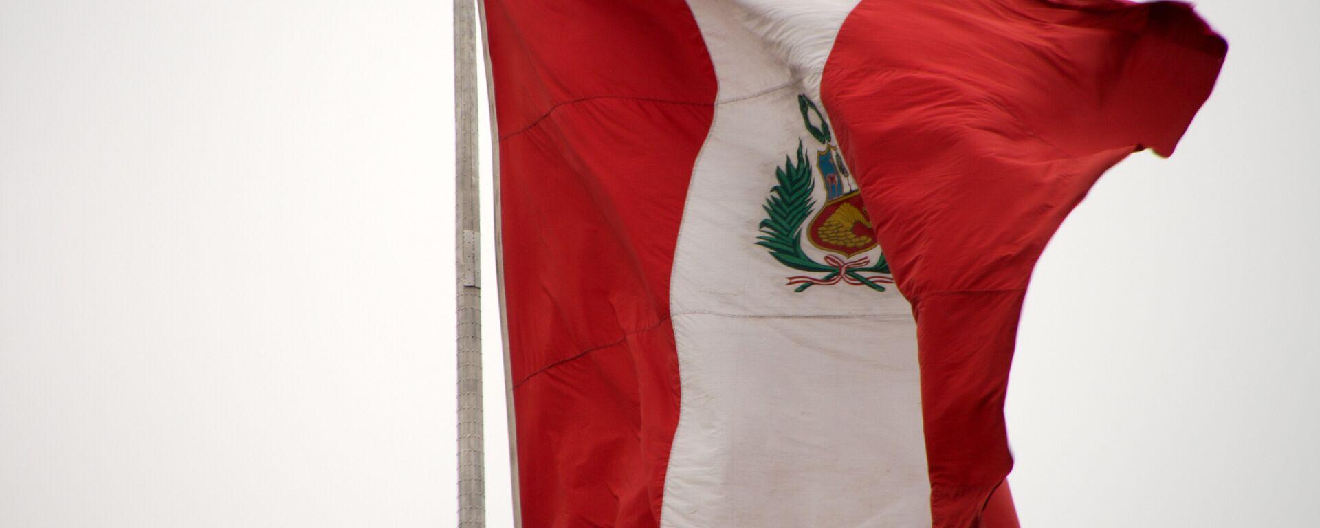 La bandera de Perú - Sputnik Mundo, 1920, 07.01.2021