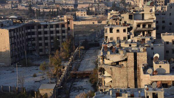La situación en Alepo, Siria - Sputnik Mundo