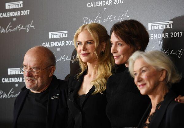 Peter Lindbergh, Uma Thurman, Nicole Kidman y Helen Mirren - Sputnik Mundo
