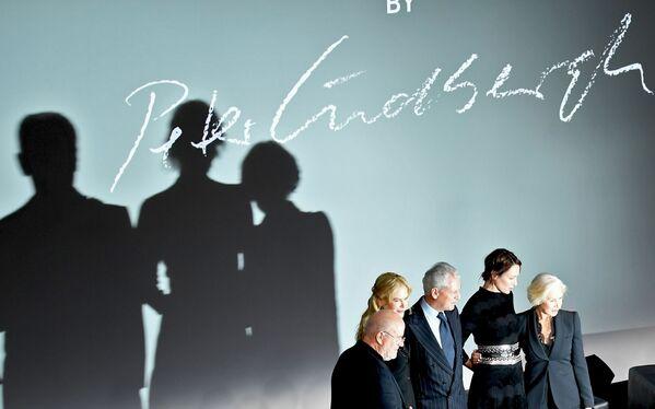 Peter Lindbergh, Nicole Kidman, Marco Tronchetti Provera, Uma Thurman y Helen Mirren - Sputnik Mundo