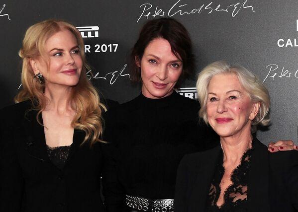 Nicole Kidman, Uma Thurman y Helen Mirren - Sputnik Mundo
