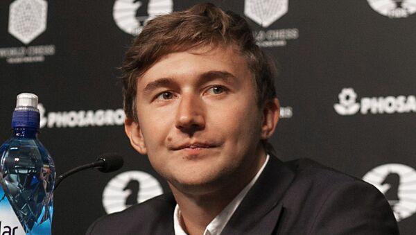 Serguéi Kariakin, Gran Maestro ruso en ajedrez - Sputnik Mundo