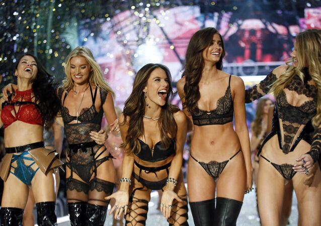 Las modelos de Victoria's Secret