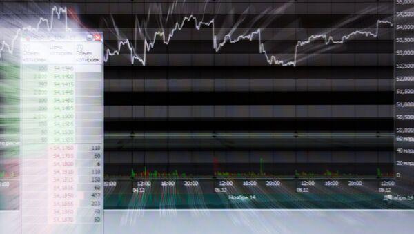 La bolsa de valores de Moscú - Sputnik Mundo