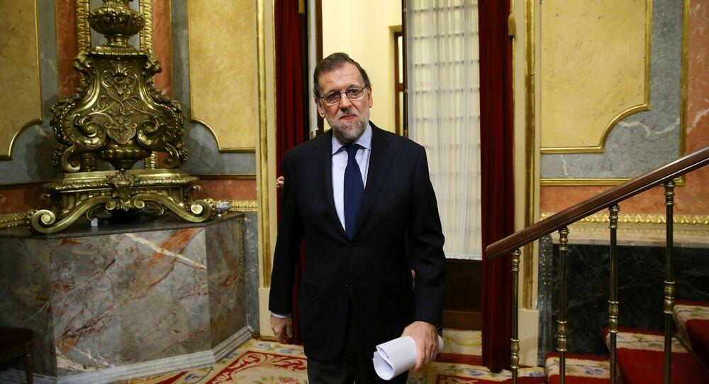 Mariano Rajoy, el presidente del Gobierno de de España