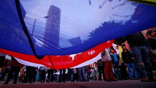 Los partidarios de la firma del acuerdo de paz en Colombia - Sputnik Mundo