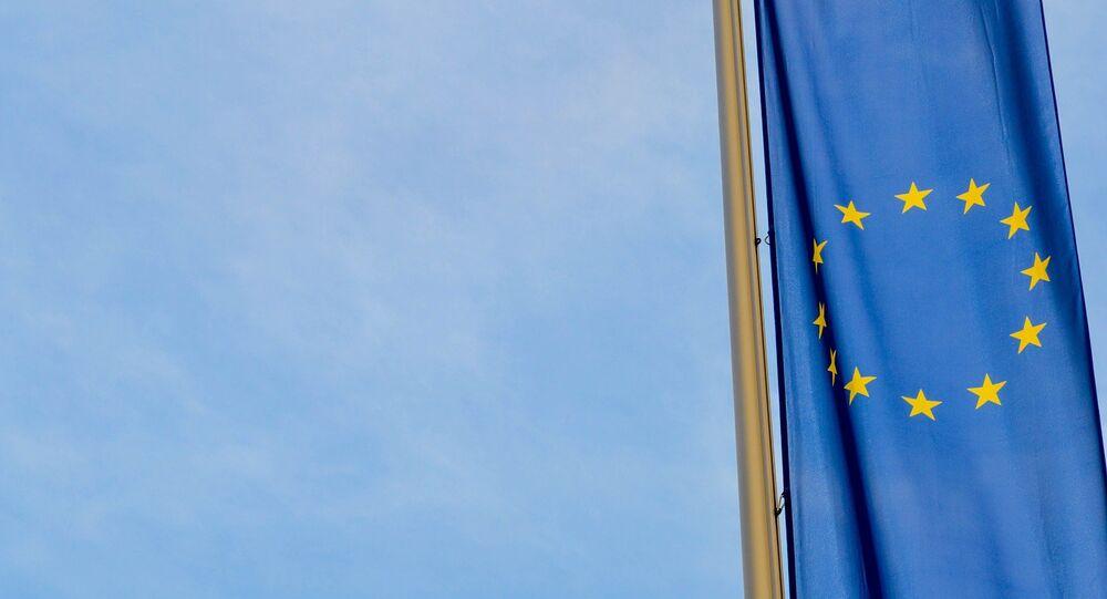 La bandera de la UE