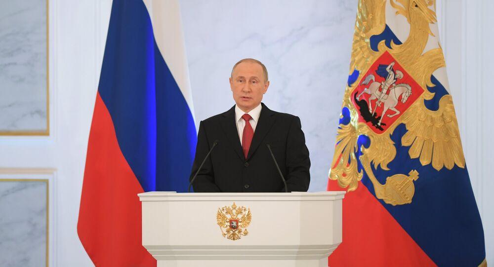 El discurso anual del presidente Vladímir Putin ante la Asamblea Federal