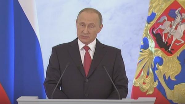 El mensaje anual de Putin a la Asamblea Federal - Sputnik Mundo