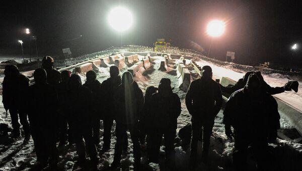 Protesta contra el oleoducto en Dakota - Sputnik Mundo